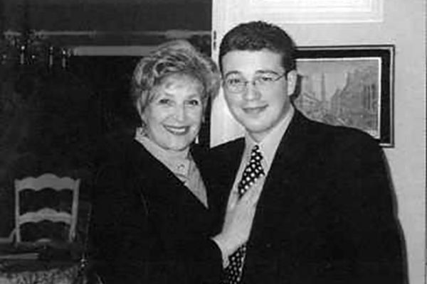 Клара Лучко со своим внуком Александром
