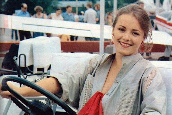 Актриса Елена Цыплакова в молодости