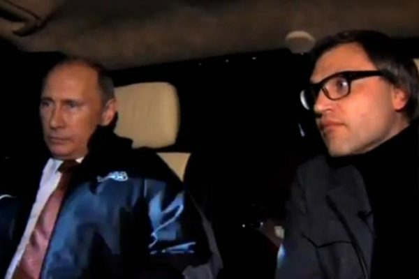 Вадим Такменев и Владимир Путин