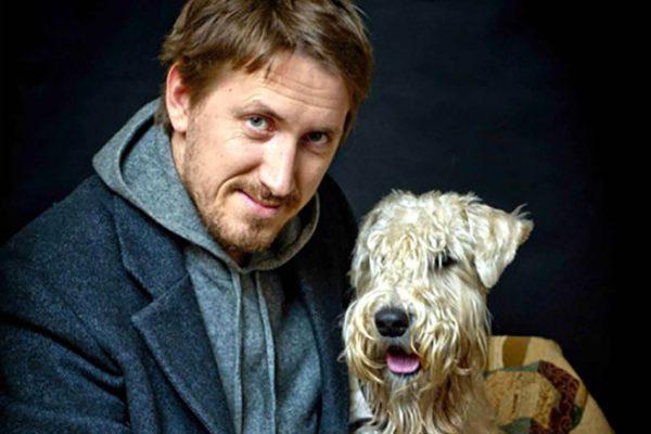 Кирилл Кяро со своей собакой