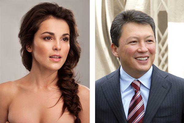 Сати Казанова и Тимур Кулибаев