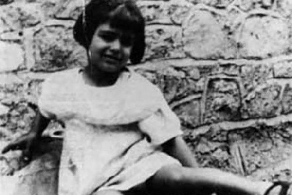 Иоланда Кристина Джильотти (певица Далида) в детстве