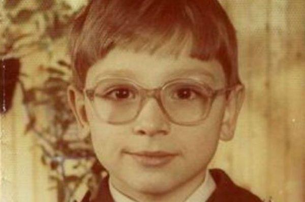 Актер Антон Хабаров в детстве