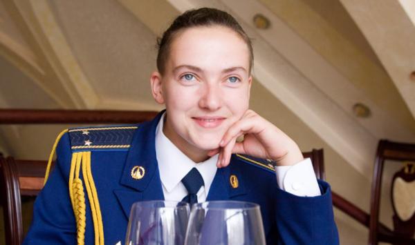 Надежда Викторовна Савченко в молодости