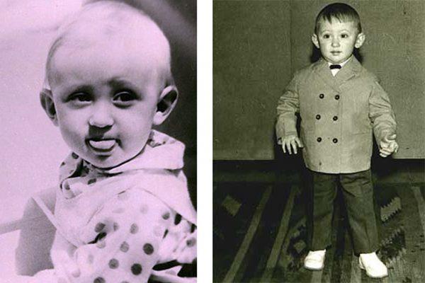 Сергей Дроботенко в детстве