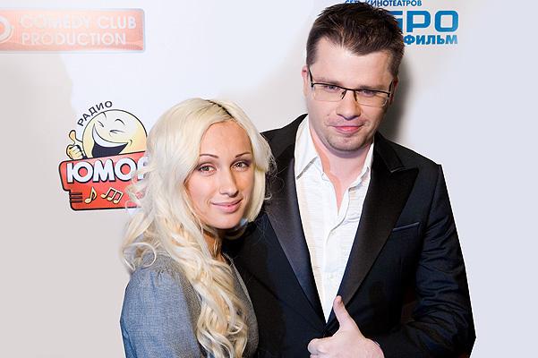 Игорь Юрьевич Харламов и Юлия Лещенко