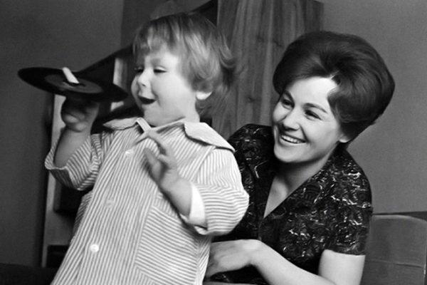 Татьяна Конюхова с сыном