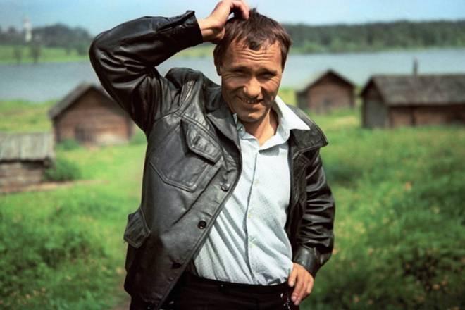 Легендарный писатель и актер Василий Шукшин