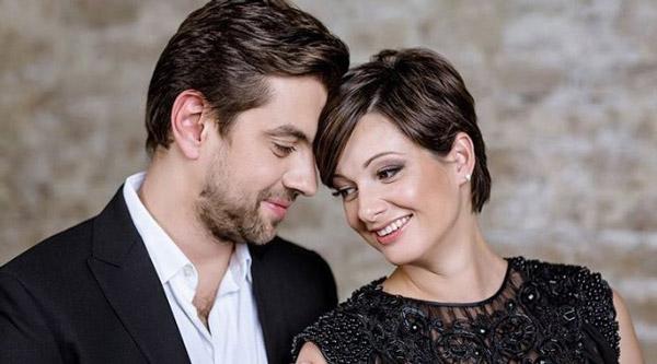 Виктория Талышинская со своим мужем