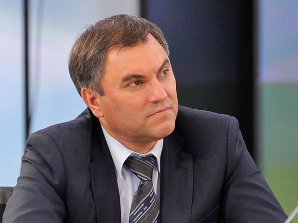 Вячеслав Володин отдал предпочтение госслужбе