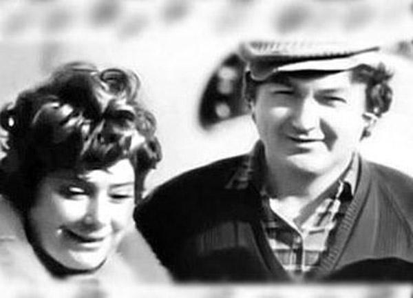 Татьяна Самойлова со вторым мужем Евгением Осиповым