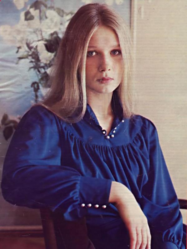 Дарья Михайлова в молодости