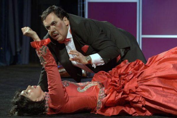Станислав Садальский на сцене театра