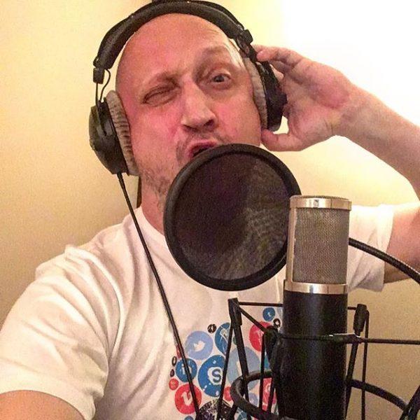 Гоша Куценко записывает в студии новый хит