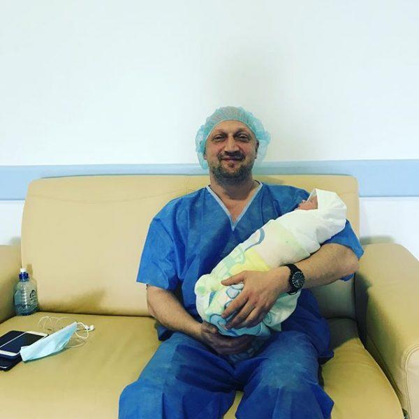 Гоша Куценко стал отцом в третий раз