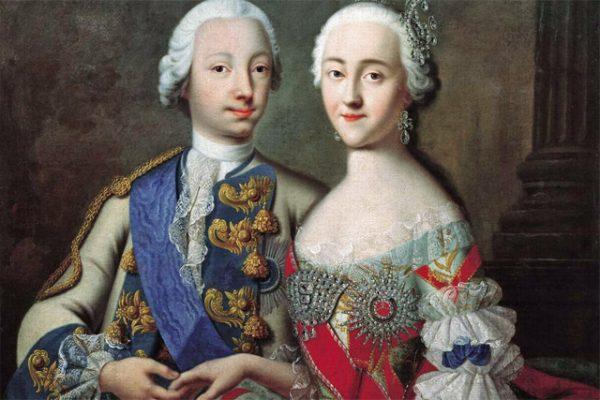 Екатерина Великая и Петр