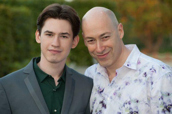 Дмитрий Гордон с сыном