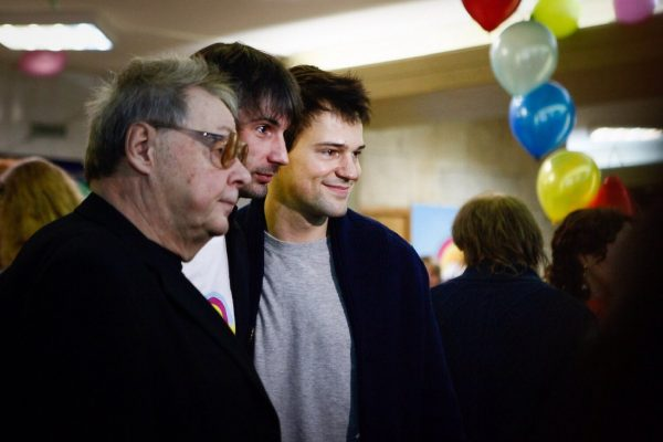 Козловский Валерий Иванович с сыном Данилой