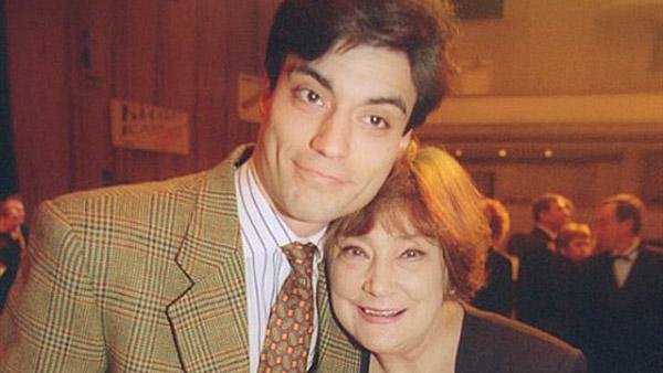 Татьяна Самойлова с сыном Дмитрием