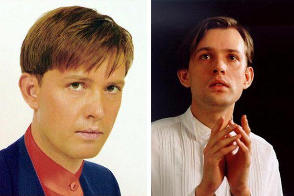 Олег Погудин в молодости