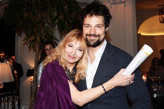 Надежда Звенигородская - жена актера