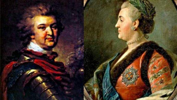 Григорий Орлов и Екатерина 2