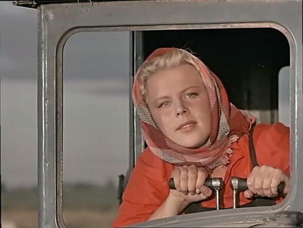 Лариса Кронберг Соболевская в молодости