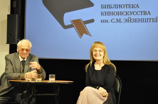 Наумов Владимир Наумович на презентации