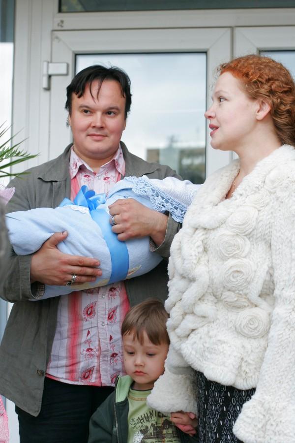 Татьяна Абрамова с первым мужем Сергеем Кулишенко