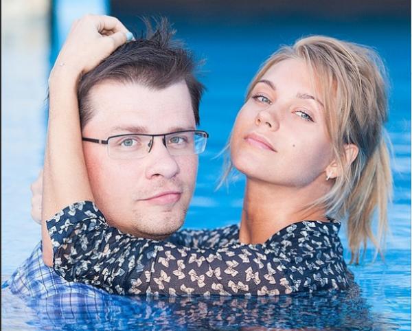 Игорь Юрьевич Харламов с женой