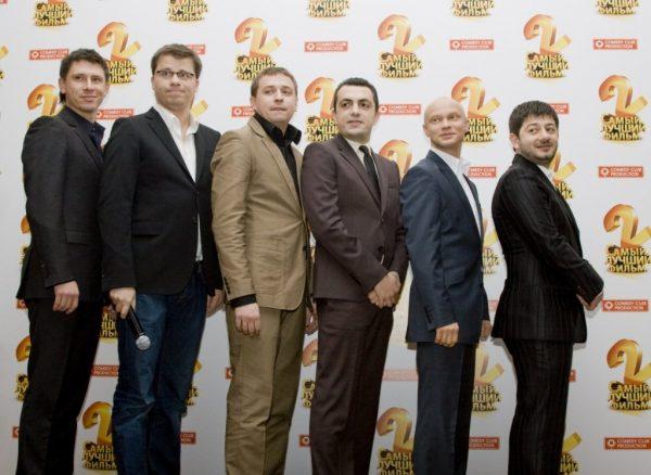 Игорь Юрьевич Харламов с командой