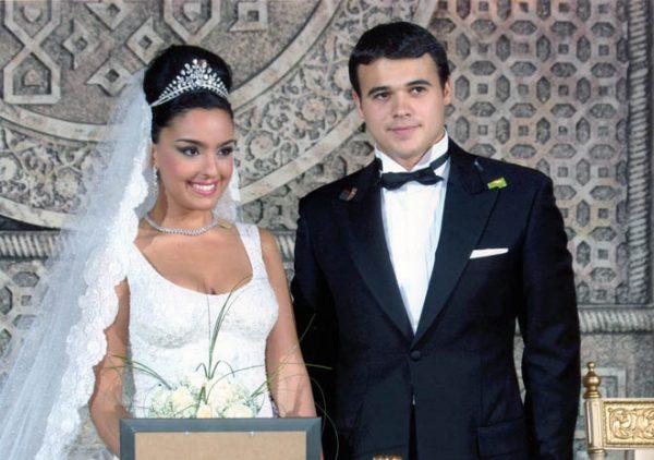 Эмин Агаларов и Лейла Алиева (жена)