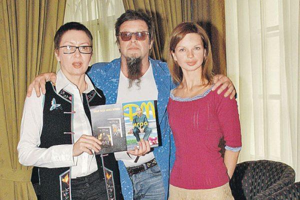 Гребенщиков Борис Борисович с семьей