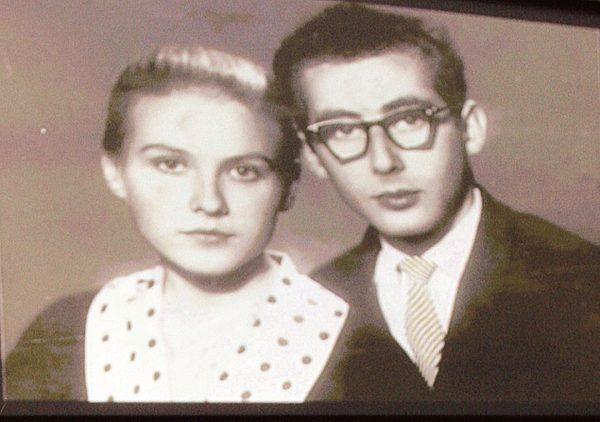 Мария Пахоменко и Саша Колкер (муж) в юности