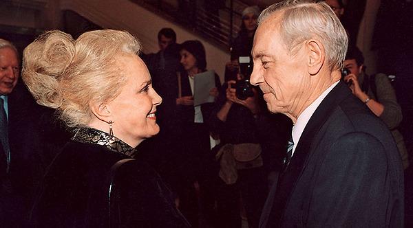 Элина Быстрицкая и Николай Патоличев