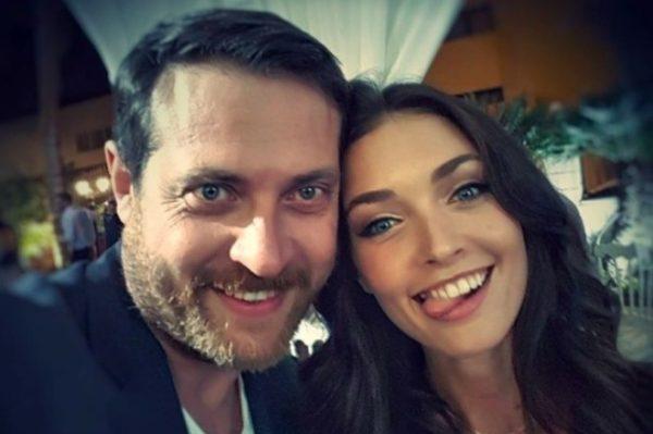 Кирилл Сафонов со своей дочерью