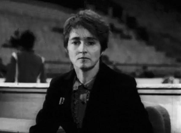 Тамара Москвина в молодости