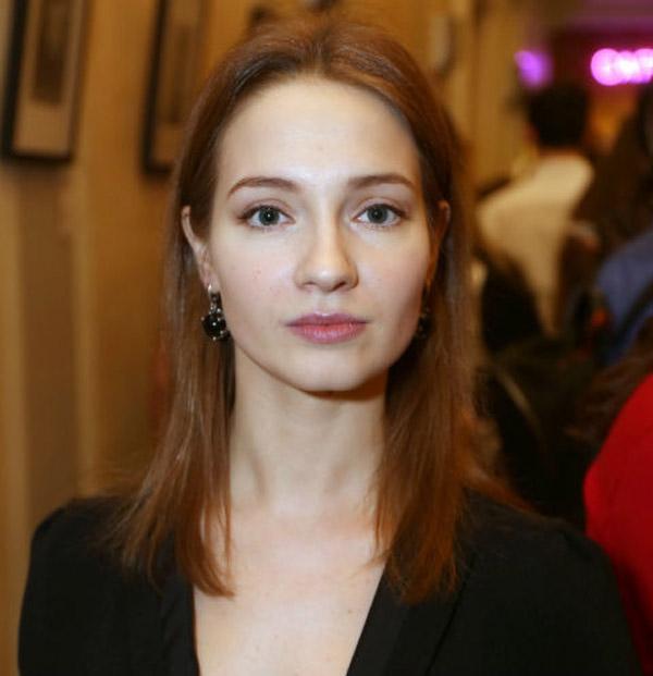 Российская актриса Мария Луговая