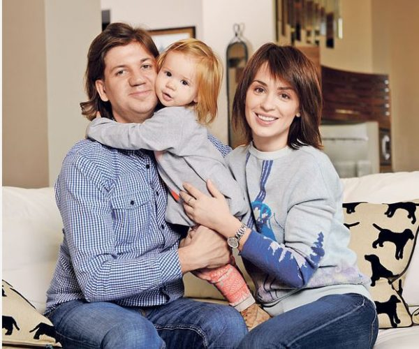 Ирина Муромцева: фото с семьей
