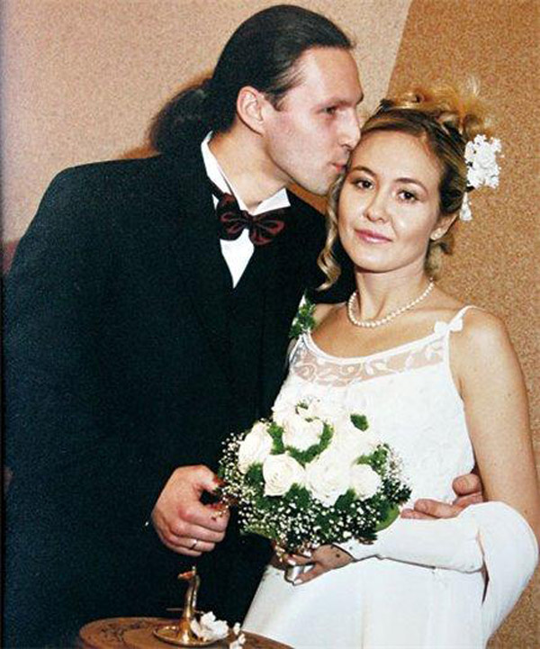 Василиса Володина с мужем Сергеем