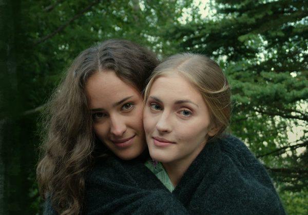 Елизавета Георгиевна Мартиросян с актрисой Анной Козючец