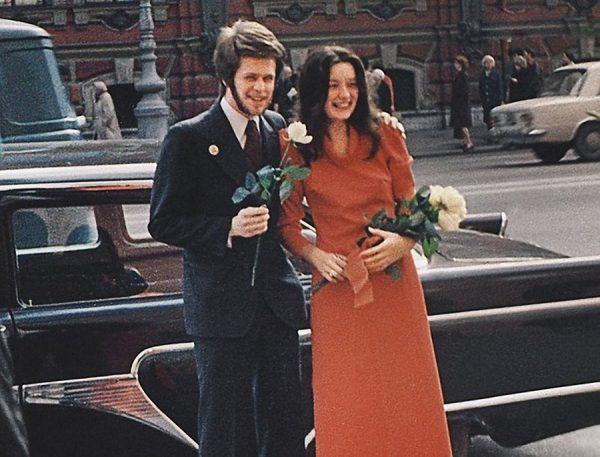 Гребенщиков Борис Борисович и Наталья Козловская (1-ая жена)