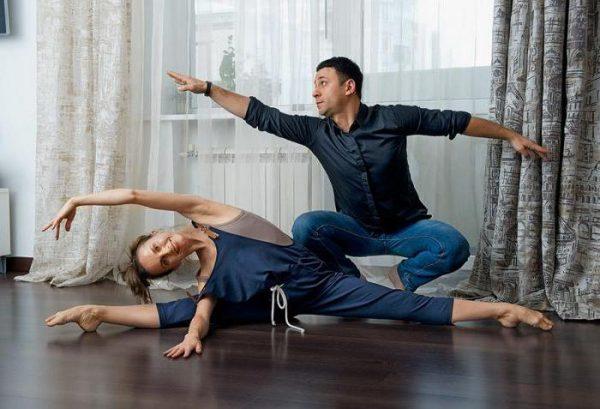 Юрий Аскаров с женой