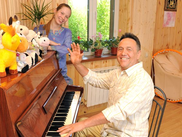 Ренат Ибрагимов: фото из домашнего архива