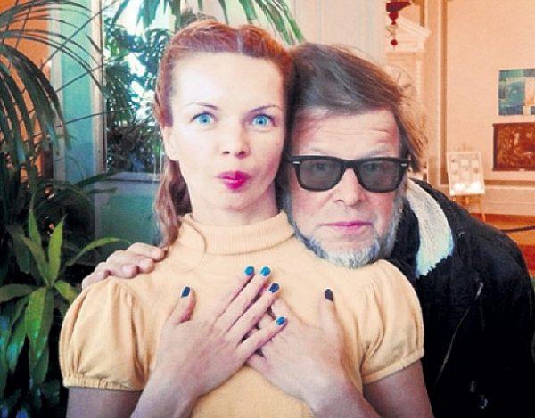 Гребенщиков Борис Борисович с дочкой