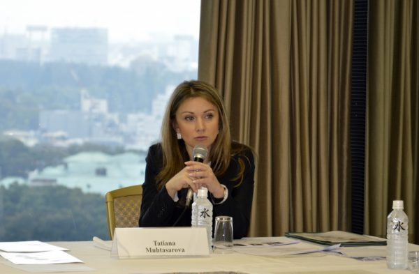 Мухтасарова Татьяна дает интервью