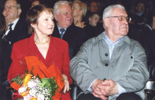 Тамара Москвина с мужем