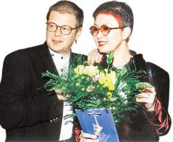 Гребенщиков Борис Борисович с женой Ириной