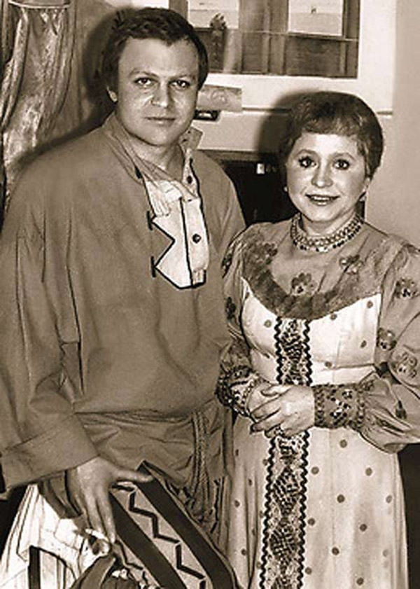 Александр Соловьёв и Людмила Гнилова