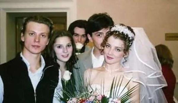 Алексей Онищенко с первой женой Ольгой Никоновой